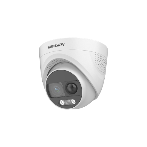 2 MP PIR Siren Fixed Turret Camera
